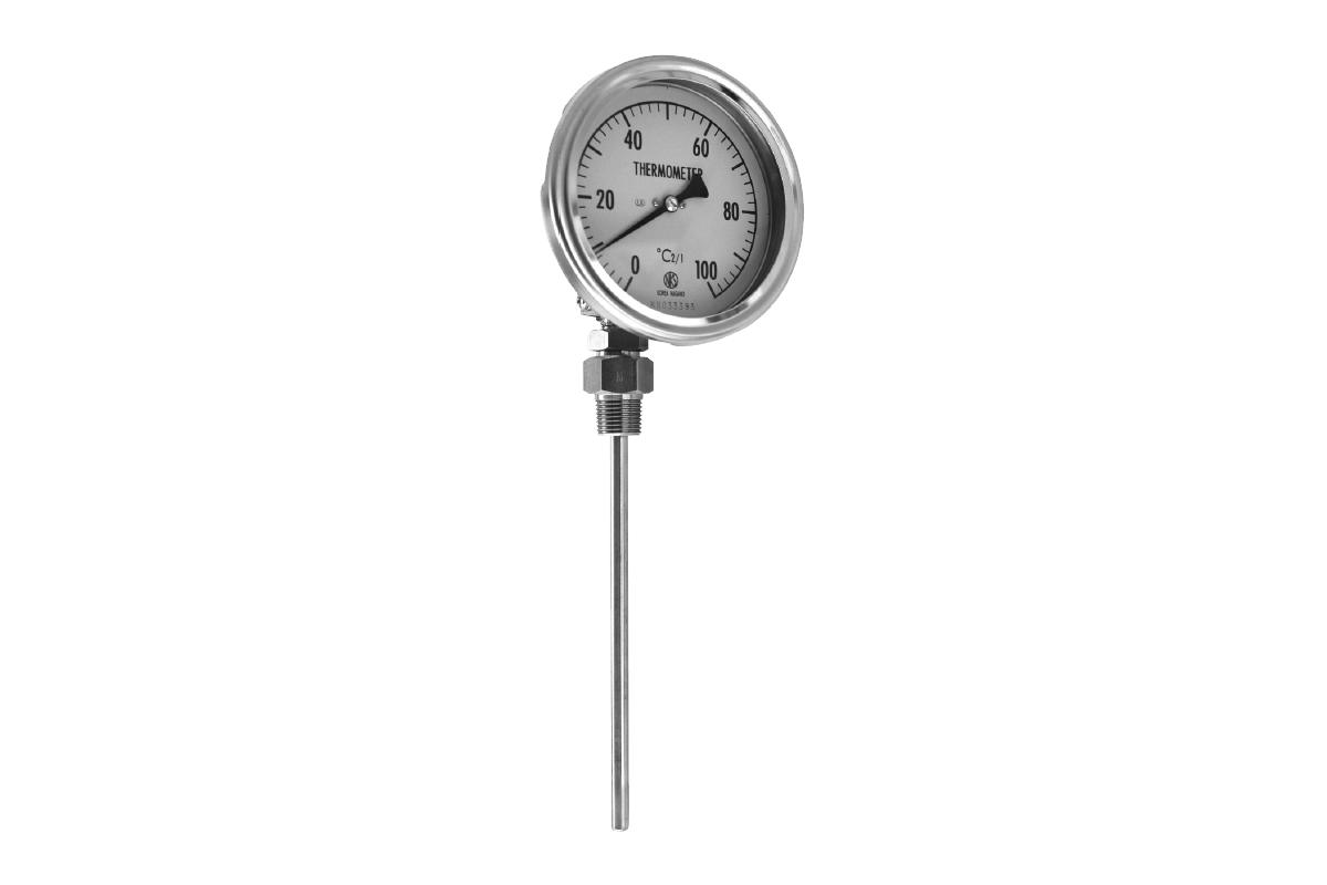 Fress Angle Type Bimetal Thermometer