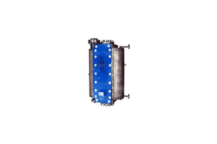 Fully Welded Hybrid Heat Exchanger
