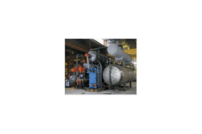 Plate & Shell, Semi-Welded Heat Exchanger
