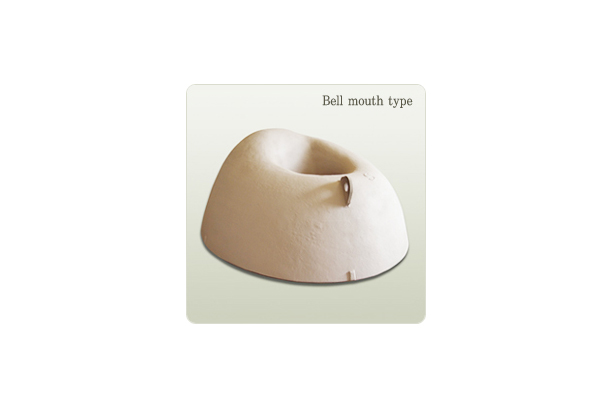Bell mouth type