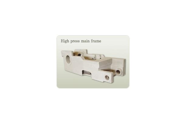 High press main frame