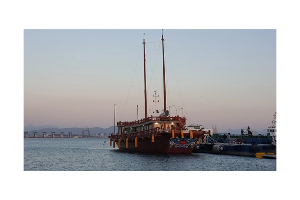 Joseon Tongsinsa Ship