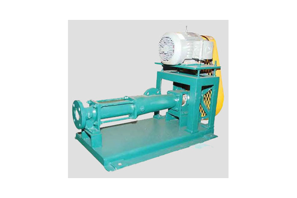 Horizontal ONE-ROTOR screw pumps