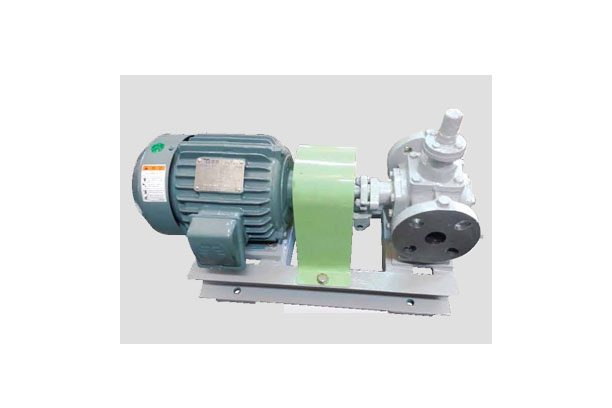 Horizontal in-line gear pumps