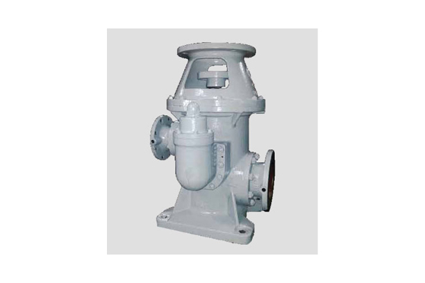 Vertical in-line gear pumps