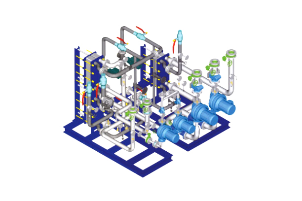 Compact Heat Exchanger Unit (CHU)