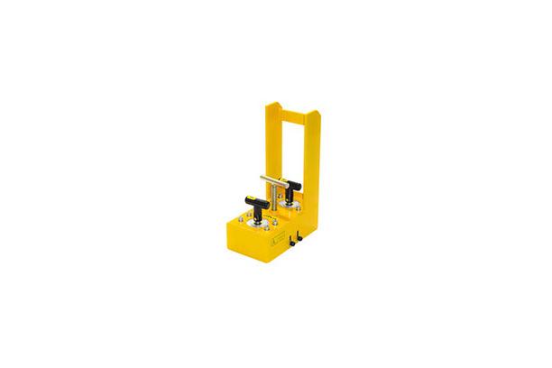 소부재 및 중량물 안착 가이드 ( T-BAR 안착 가이드)