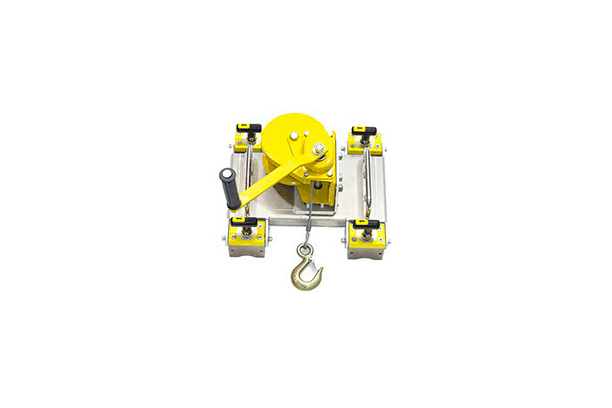 Portable ON/OFF Magnet winch