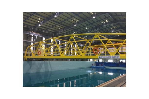 해양수조 예인전차 & 레일 시스템