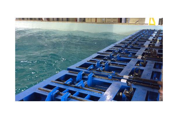Ocean Basin Wave Generating System
