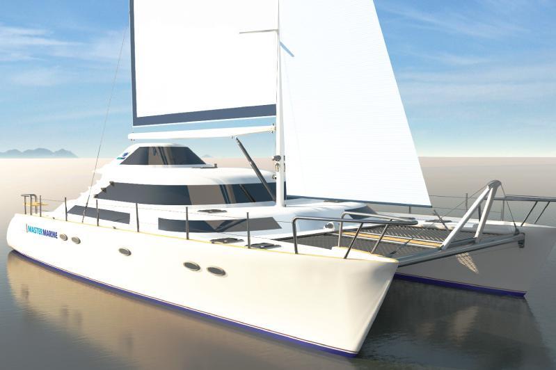 560 Catamaran Sail Yacht