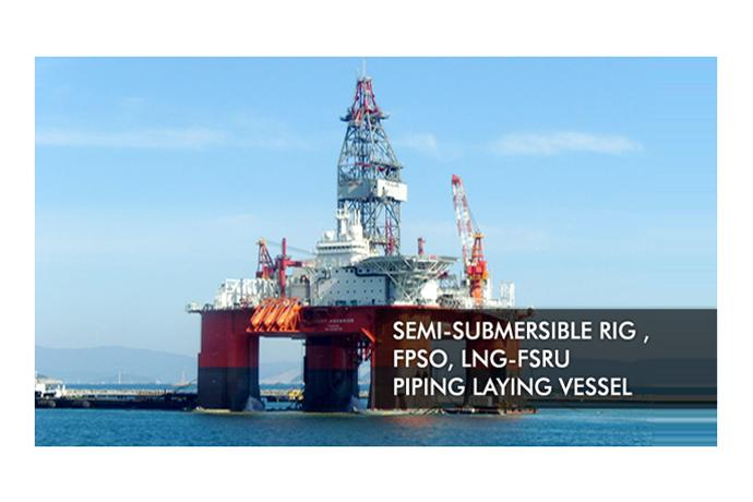 Semi-submersible Rig& FPSO