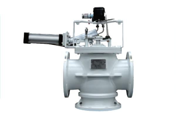 Control Valve - 3-Way Rotary Valves  with Steel Plate Body