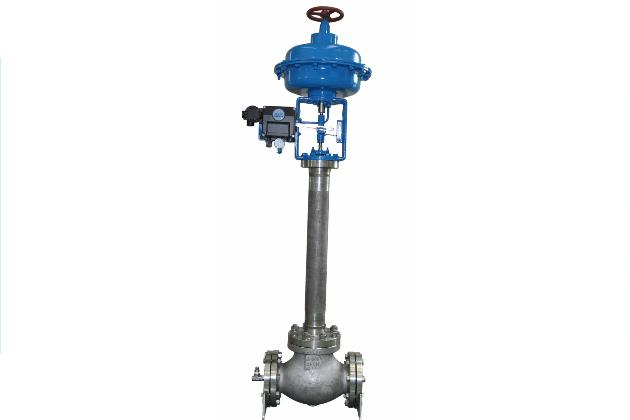 2-Way Cryogenic Pneumatic Control Valve