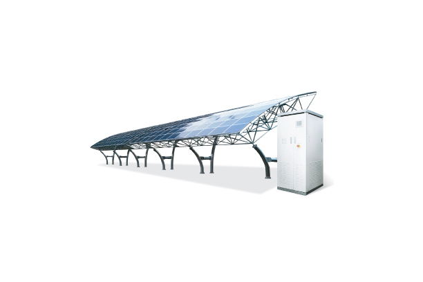 Solar Power House Supporting Business
