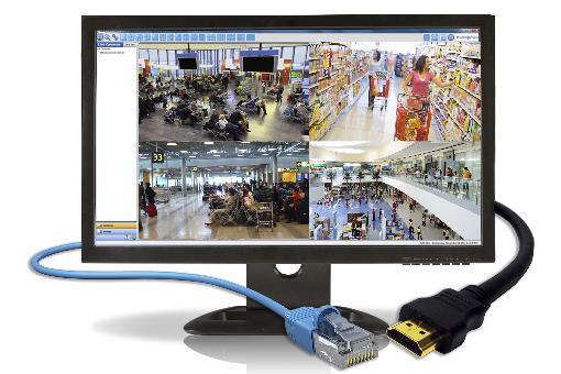 "21.5"" IP Input & Output Monitor"