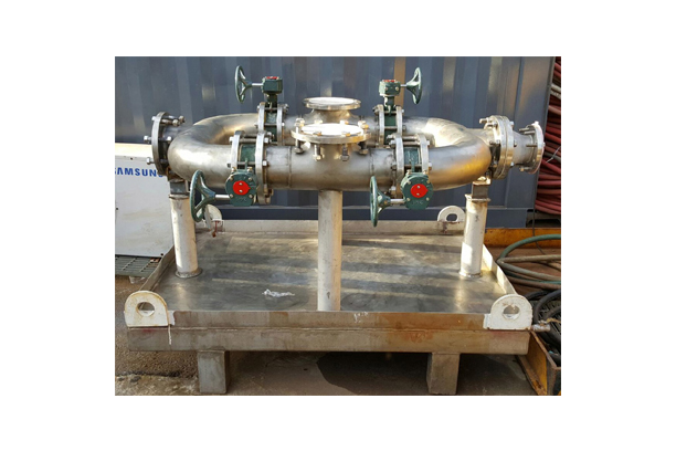 Chemical & Water Flushing System