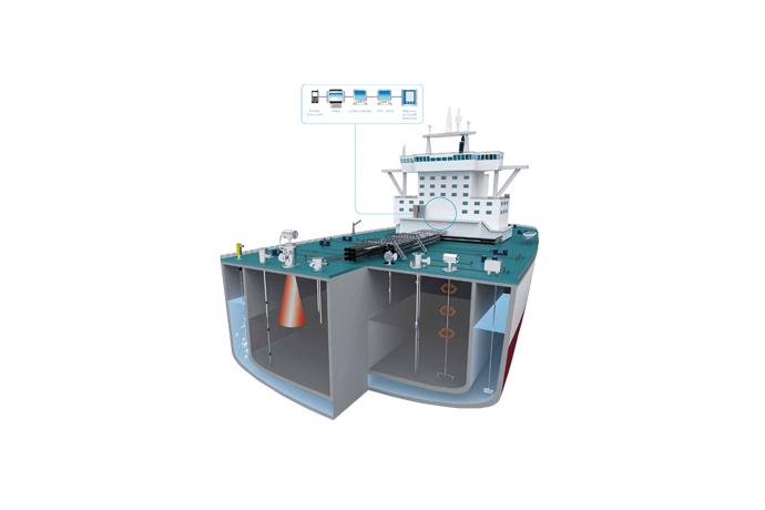 Level Control and Measurement System for Ships
