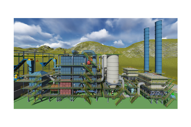 Power Plant Sector (Gasification type power generation system)