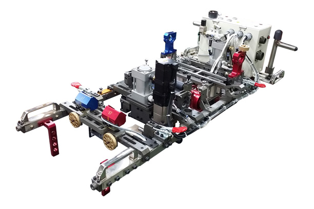 TRIPLEX BONDING MACHINE-RAIL TYPE