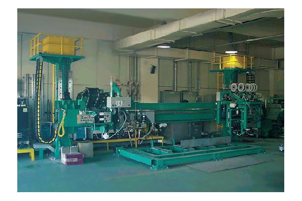 SAW-FCAW Welding Test Machine