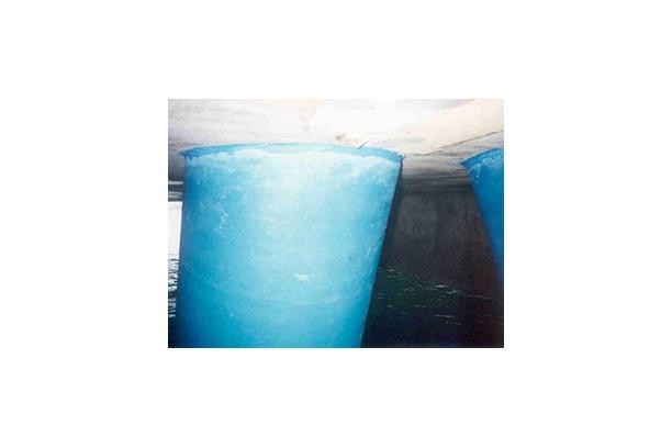 해양강구조물 테이프방식 (FRP카바, 해양용 방식테이프)