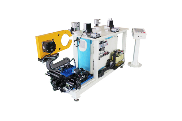 FLAT COIL END TAPING MACHINE