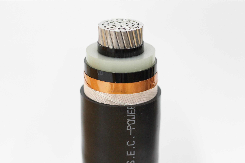 High Voltage Power Cable (8.7/15kV CU/XLPE/PVC, AL/XLPE/PVC)