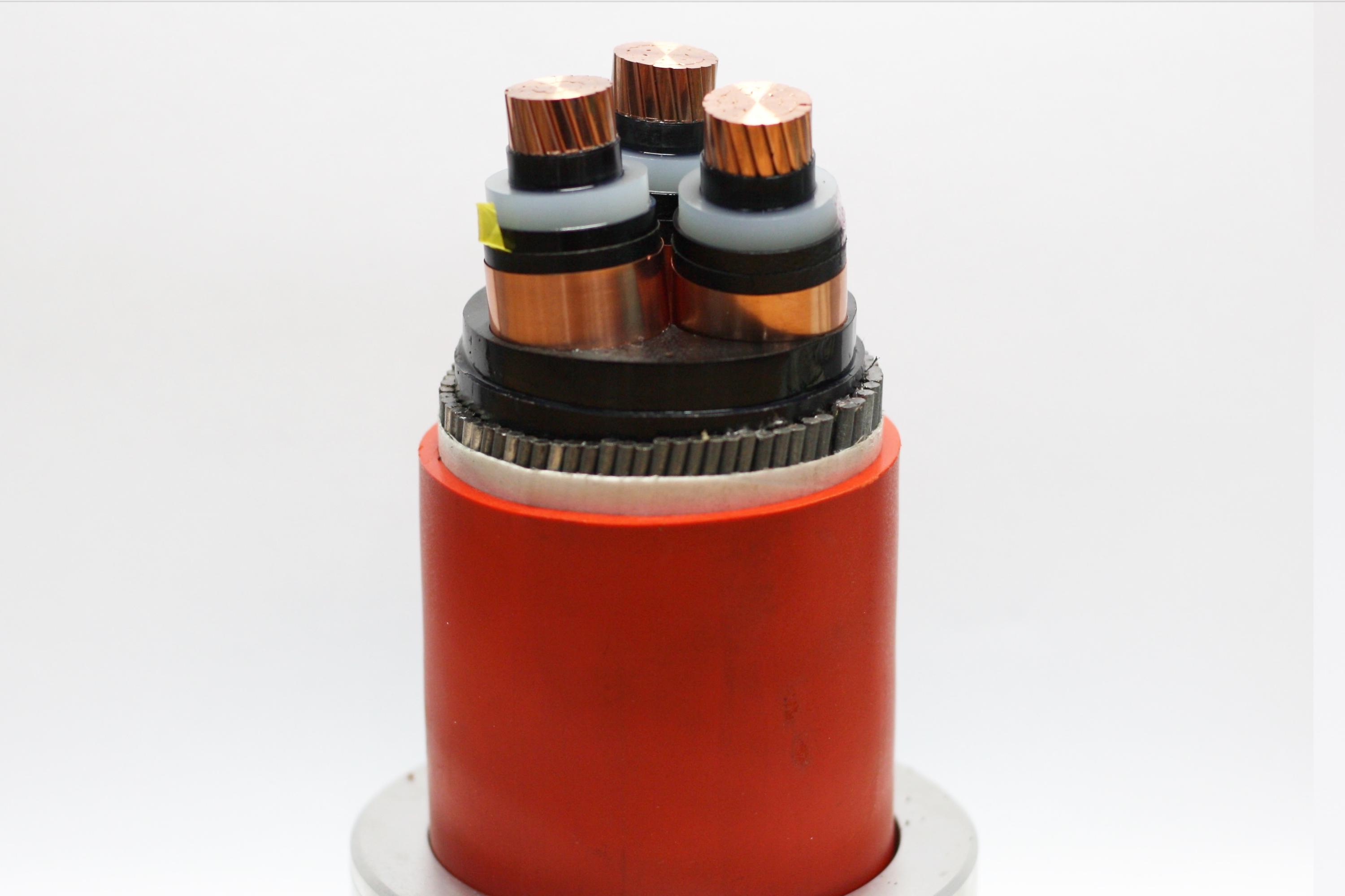 High Voltage Power Cable (12/20kV CU/XLPE/PVC, AL/XLPE/PVC)