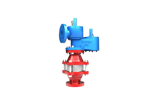 PRESSURE AND VACUUM RELIEF VALVE RELIEF VALVE WITH FLAME ARRESTER