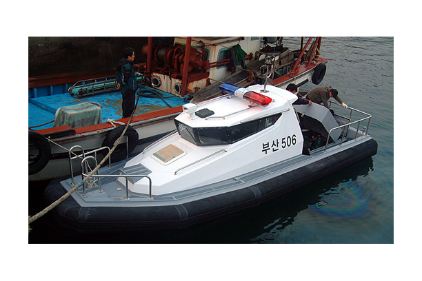 High speed patrol boat SSB 7.5