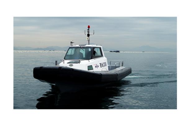 High speed patrol boat SSB 8.0
