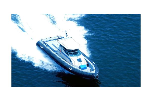 High speed patrol boat SSB 9.6