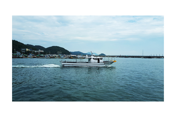 Supervision boat MARINE BOY