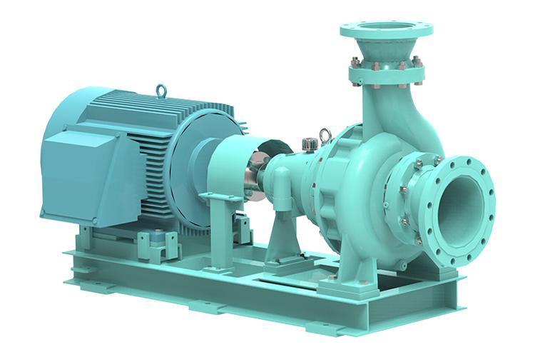 횡축,단단,볼류트 케이싱 ISO 프로세스 펌프
