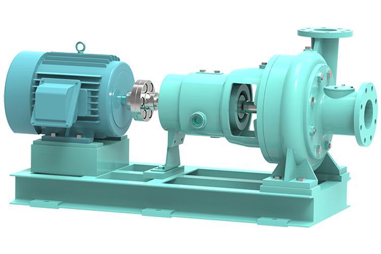 누수 방지용 펌프 제지 원심펌프 (푸트마운트형)