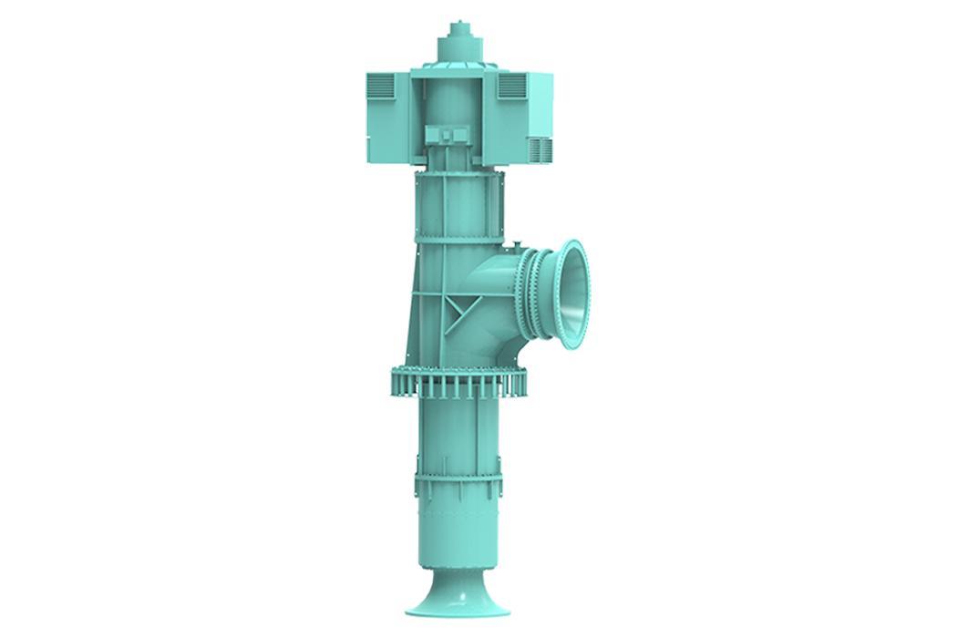 입축사류펌프
