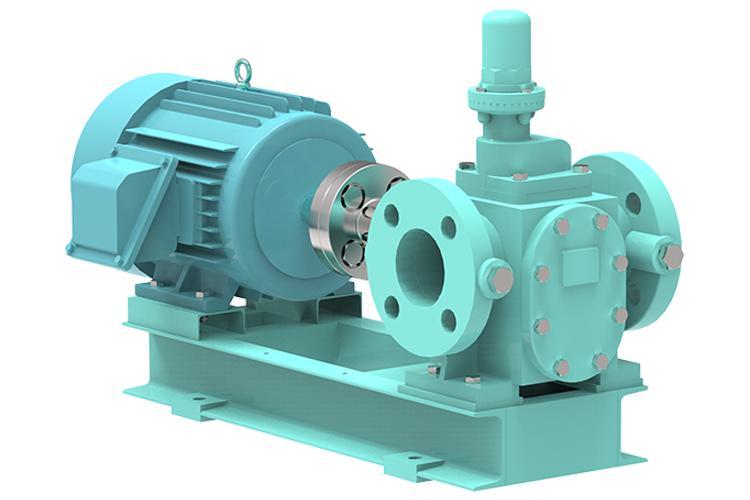 자윤활 소유량 기어 펌프 - 16kg/cm2