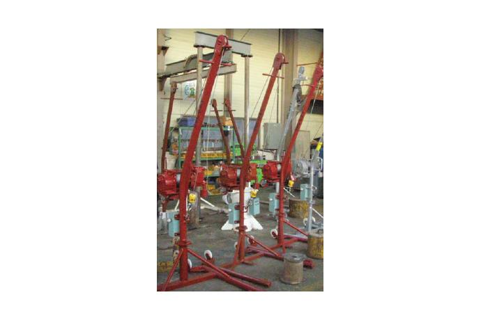 Sludge & Injured Person Handling Davit / Steering Gear Room Davit