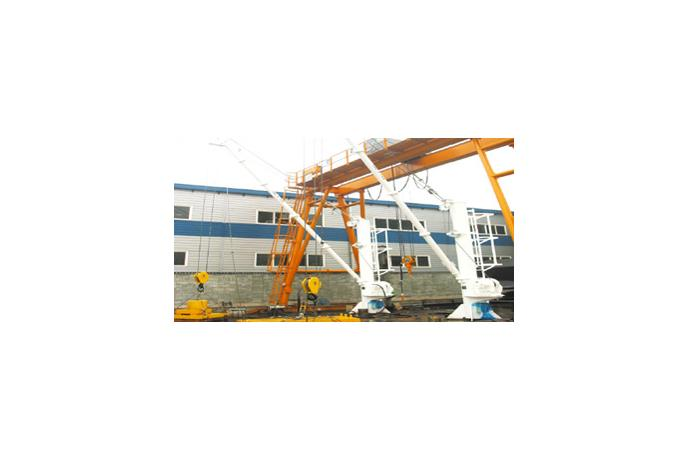 EM'CY Cargo Pump Handling Davit