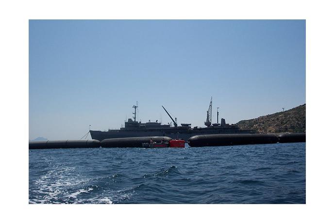 Anti-Terrorist Boat Barriers