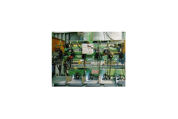 Panel Stiffener Welding System Equipped with Carry Auto for Sub Assembly