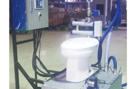 Sewage Comminuting & Disinfecting System