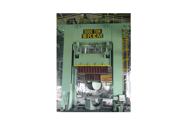 5,000TON (ELBOW, HOT) METAL-FORMING PRESS