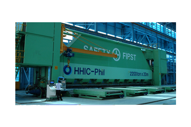 2,200TON*20M CNC ROLL BENDING PRESS