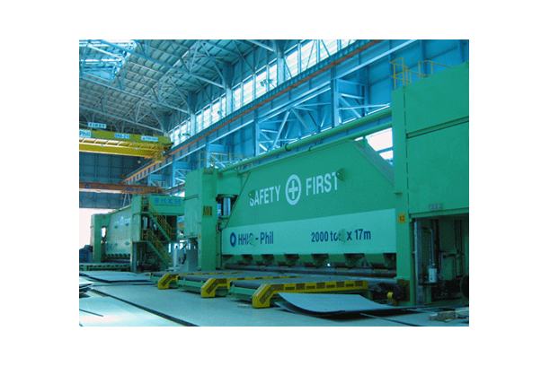 2,000TON*17M CNC ROLL BENDING PRESS