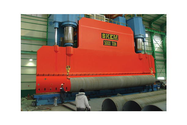 5,000TON*18M CNC KNUCKLE BENDING PRESS(PIPE BENDING PRESS)