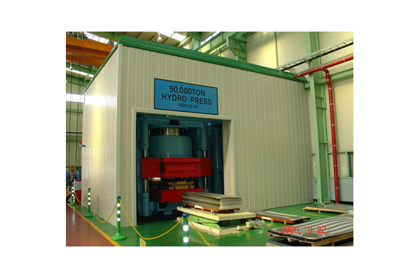 50,000TON ULTRA-HIGH PRESSURE PRESS