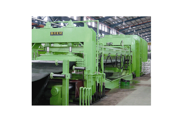 4,100TON RUBBER SHEET MOLDING PRESS