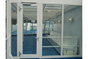 Balcony Door / Partition